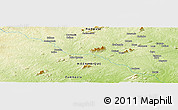 "Physical Panoramic Map of the area around 15° 27' 46"" S, 38° 19' 30"" E"