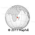 Outline Map of Roco, rectangular outline