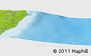 Physical Panoramic Map of Necotia