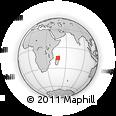 Outline Map of Ambohibe Atsinanana, rectangular outline