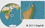 Satellite Location Map of Maroantsetra