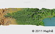 Satellite Panoramic Map of Maroantsetra