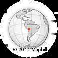 Outline Map of Ananea, rectangular outline