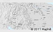 Physical 3D Map of Santa Lucía