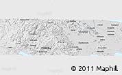 Physical Panoramic Map of Santa Lucía