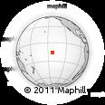 Outline Map of Garumaoa, rectangular outline