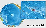 Physical Location Map of Tupana