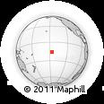 Outline Map of Tupana, rectangular outline