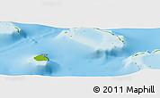 Physical Panoramic Map of Tupana
