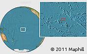 "Satellite Location Map of the area around 15°58'32""S,150°22'30""W"