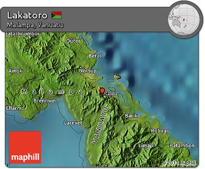 Free Satellite Map of Lakatoro