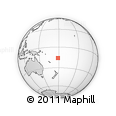 Outline Map of Great Sea Reef, rectangular outline
