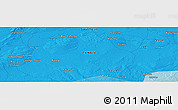 """Political Panoramic Map of the area around 15°58'32""""S,26°25'29""""E"""