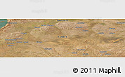 "Satellite Panoramic Map of the area around 15°58'32""S,26°25'29""E"