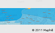 """Political Panoramic Map of the area around 15°58'32""""S,27°16'29""""E"""