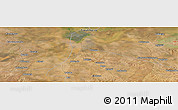 "Satellite Panoramic Map of the area around 15°58'32""S,27°16'29""E"