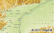 Physical Map of Lusitu