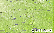 """Physical Map of the area around 15°58'32""""S,38°19'30""""E"""