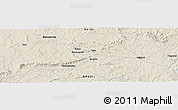 "Shaded Relief Panoramic Map of the area around 15° 58' 32"" S, 50° 4' 30"" W"