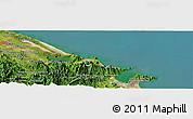 "Satellite Panoramic Map of the area around 16°19'2""N,108°1'30""E"