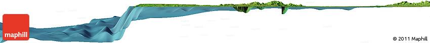 """Satellite Horizon Map of the Area around 16° 19' 2"""" N, 119° 55' 30"""" E"""