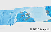 """Political Panoramic Map of the area around 16°19'2""""N,119°55'30""""E"""