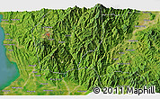 Satellite 3D Map of Lobong