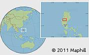 Savanna Style Location Map of Tuba