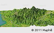 Satellite Panoramic Map of Tuba