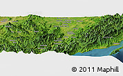 "Satellite Panoramic Map of the area around 16° 19' 2"" N, 121° 37' 30"" E"