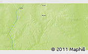 """Physical 3D Map of the area around 16°19'2""""N,1°46'29""""E"""