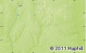 """Physical Map of the area around 16°19'2""""N,1°46'29""""E"""
