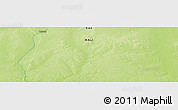 """Physical Panoramic Map of the area around 16°19'2""""N,1°46'29""""E"""