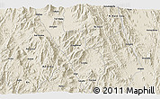 Shaded Relief 3D Map of Angaba