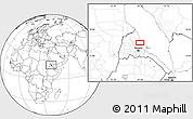 Blank Location Map of Ciabbub Areddu