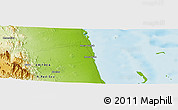 Physical Panoramic Map of Obellet
