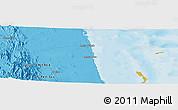 Political Panoramic Map of Ciabbub Areddu