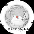 Outline Map of Sindhudurg, rectangular outline