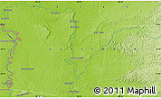 """Physical Map of the area around 16°19'2""""N,90°1'30""""W"""
