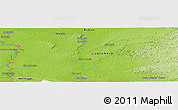 """Physical Panoramic Map of the area around 16°19'2""""N,90°1'30""""W"""