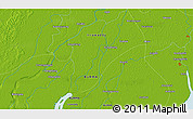 """Physical 3D Map of the area around 16°19'2""""N,95°16'30""""E"""