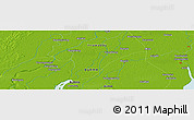 """Physical Panoramic Map of the area around 16°19'2""""N,95°16'30""""E"""