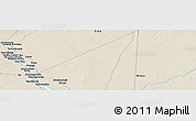 Shaded Relief Panoramic Map of Baléssadjié