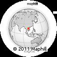 Outline Map of Ban Katèp, rectangular outline