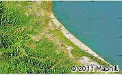 "Satellite Map of the area around 16°49'43""N,107°10'30""E"