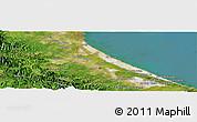 "Satellite Panoramic Map of the area around 16°49'43""N,107°10'30""E"