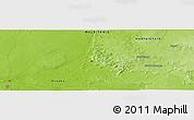 Physical Panoramic Map of Ségui