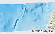 "Shaded Relief 3D Map of the area around 16° 49' 43"" N, 119° 55' 30"" E"