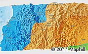 Political 3D Map of Bintawan