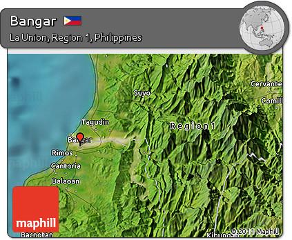 Free Satellite 3D Map of Bangar